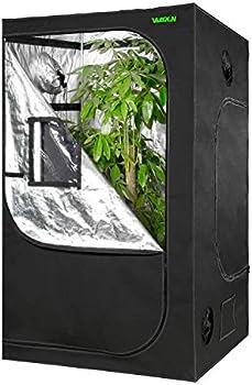 Vanerdun Mylar Reflective Grow Tent for Indoor Hydroponic Growing System