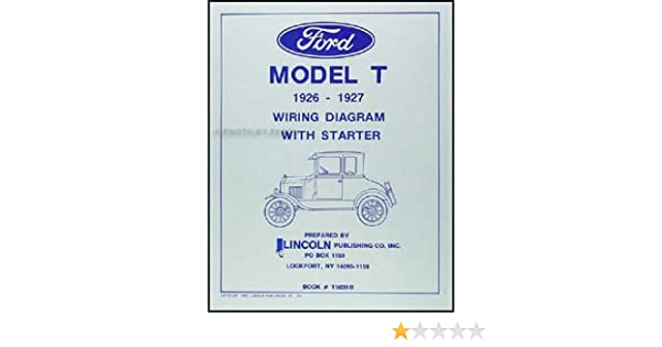 360 ford engine wiring 1926 1927 ford model t wiring diagram manual reprint lincoln  1927 ford model t wiring diagram manual