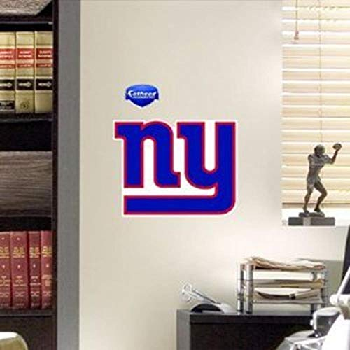 NFL New York Giants Logo Fathead Wall Decal, 12 x 9-inches