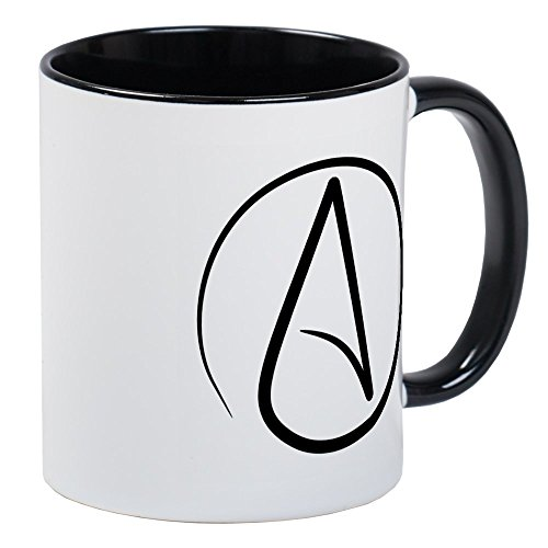 CafePress - Atheist Symbol - Unique Coffee Mug, Coffee Cup