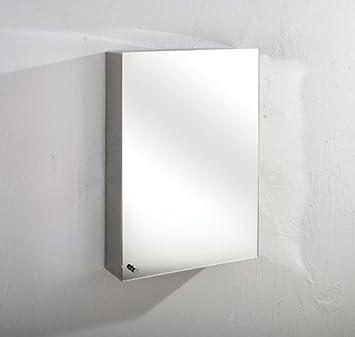 Monte Wide By Tall Single Door Mirror Bathroom Wall
