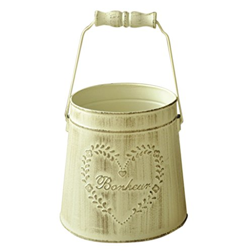 MagiDeal British Style Garden Small Metal Tin Plant Flower Hanging Planter Pot Box from MagiDeal
