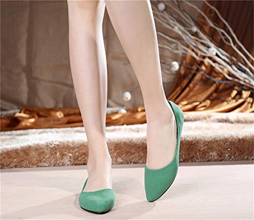 slip pregnant women E soft mouth breathable fashion single autumn and pointed non flat Spring shoes shallow shoes shoes FLYRCX sole work shoes comfortable qwxg8RHfK