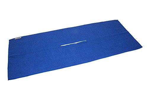 """Center Cut Microfiber Golf Towel 16""""x40"""" (Navy Blue)"""