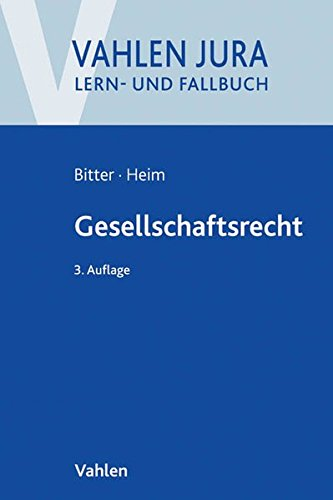 Buch Gesellschaftsrecht Georg Bitter pdf - ephenunpsic