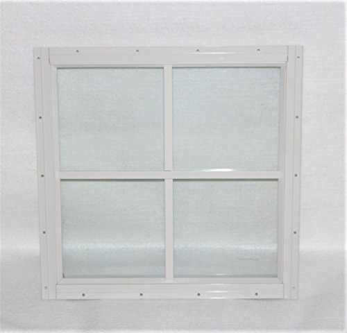 12 White Flush (Shed Windows 12