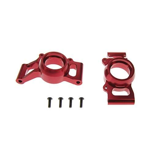 Atomik RC Alloy Rear Hub Carrier, Red fits the Traxxas X-Maxx - Replaces Traxxas Part 7752