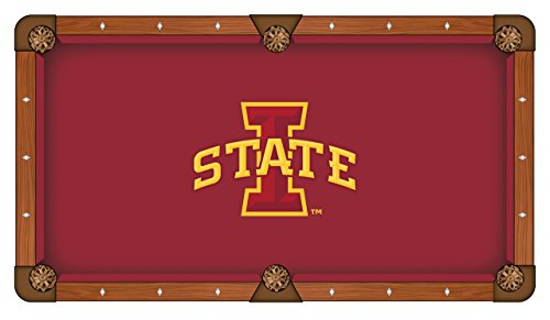 NCAA 8ft Pool Table Cloth by Holland Bar Stool - Iowa State
