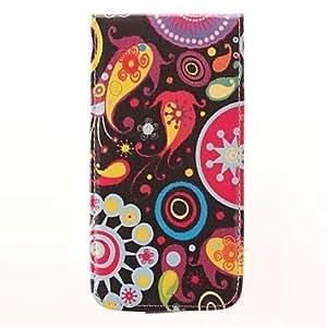MOFY-Color Design De Medusas PU Leather Case cuerpo completo para Samsung Galaxy i9600 S5 (colores surtidos)
