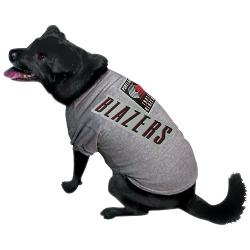 NBA Portland Trail Blazers Pet T-Shirt, Team Color, X-Large