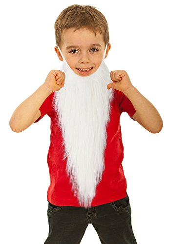 Fake White Beard Costume for Kids Dwarf Costume Beard Gnome Costume Beard