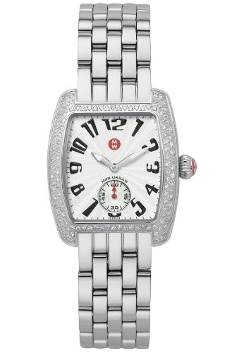 Mini Urban Watch Diamond (Michele Women's MWW02A000124 Mini Urban Diamond Steel Bracelet Watch)