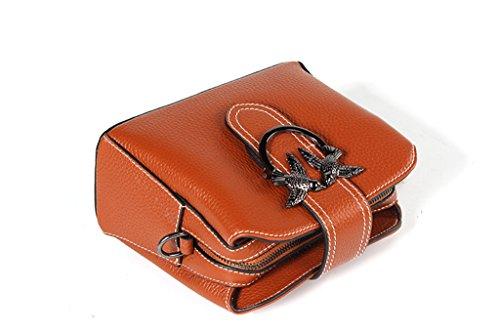 Bloqueo Sucastle Mano Genuino para Mujer y trabajo Hecho RFID Cuero de a bolsos Ideal hombro 1 Gran Capacidad Genuina viaje 1 OzOBr