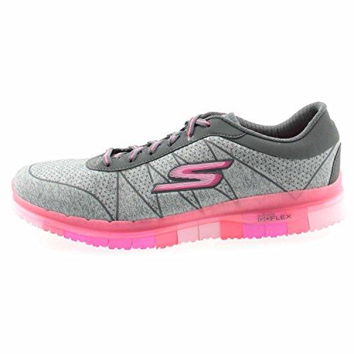 Fitness de Femme Ability Gris Chaussures Go Bleu Skechers Flex q14R1f
