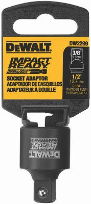 Dewalt Accessories DW2299 DeWalt Impact Ready 1/2 To 3/8-Inch Socket Reducer from Dewalt Accessories