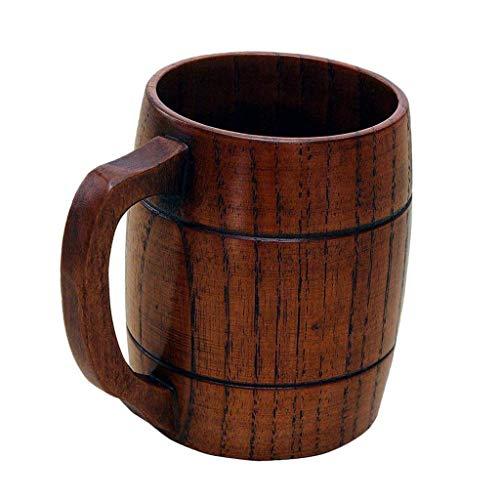 Taza De Cerveza / Jarra de Cerveza de Madera/ Tazas de Leche Café Jarra de Cerveza para Boda Regalo Madera