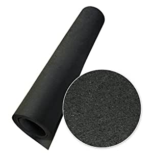 Amazoncom RubberCal Elephant Bark Flooring And Rolling Mat - How to clean black rubber gym flooring