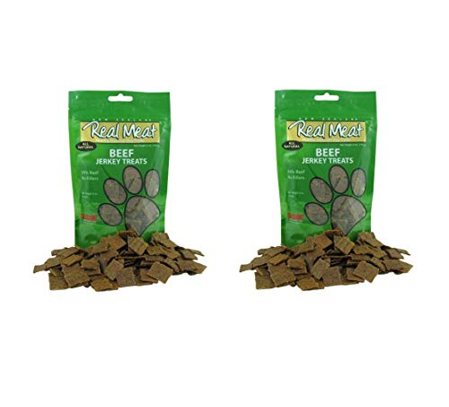(Real Meat Beef Jerky Dog Treats (2 Pack))