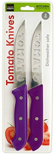 Brandobay Stainless Steel Tomato Slicer Knives Set (colors may vary ) by Brandobay (Image #2)