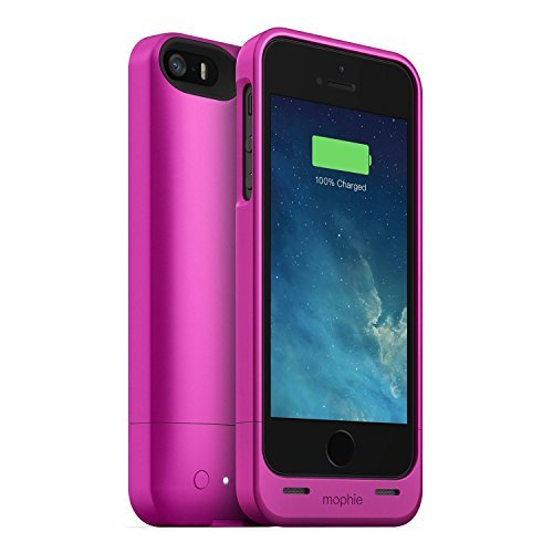 pretty nice fa1c4 d4090 mophie Juice Pack for Apple iPhone 5/5S/SE (1,700mAh) - Pink