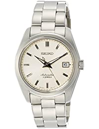 Men's ' Japanese Automatic Stainless Steel Casual Watch, Color:Silver-Toned (Model: SARB035)