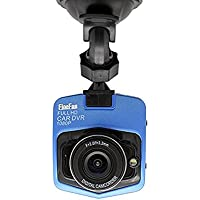 FineFun Full HD 1080P Car DVRs G-Sensor Camera GT300 Dashcam Video Registrator Recorder Cycle Recording Night Vision Dash Cam for Car,Blue(With 32GB TF Card)