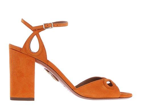 AQUAZZURA Sandalias de Vestir Para Mujer Naranja Naranja It - Marke Größe