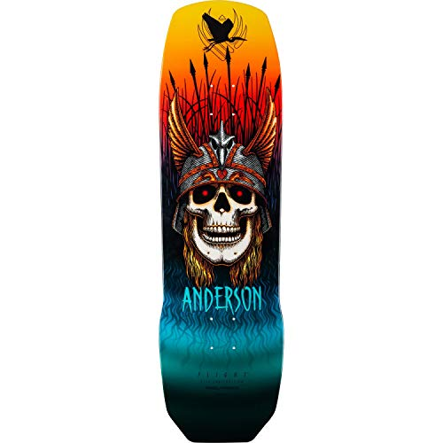 Powell-Peralta Skateboard Deck Pro Flight 290 Andy Anderson 9.13""