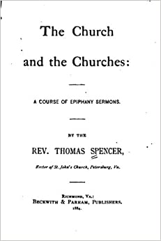 Book The Church and the Churches, A Course of Epiphany Sermons