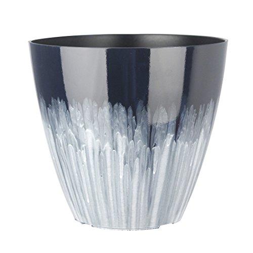 Fantastic 13 INCH Decorative Planters MixGlaze SkyBlue