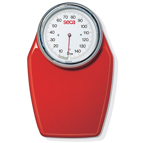 Seca 760 Red Mechanical Personal Scale (7601128009) by Seca