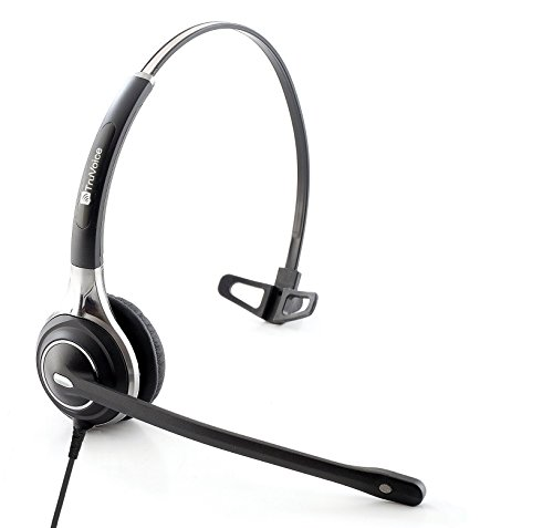 TruVoice HD-700 Premium Monaural Ultra Noise Canceling Headset (connects directly into any existing Plantronics style bottom cable or amplifier) by TruVoice