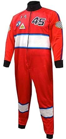 Race Car Driver Union Suit Onesie Pajama for men (Small)