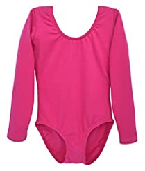 Dancina Leotard Long Sleeve Ballet Gymna...