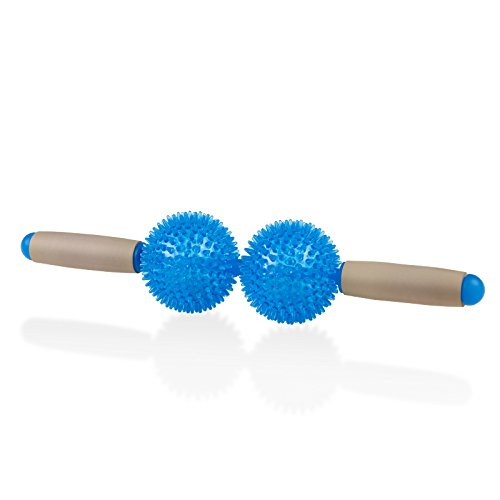 StrongTek Two-Ball Massage Roller Set - Multi-Functional Muscle Massager - Relieve Stress and Muscle Tightness and Increase Circulation by StrongTek
