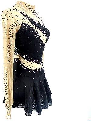 Vestido de Patinaje artístico Adulto Niños Vestido de Patinaje ...