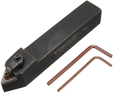 Queenwind 20x20mm MTENN2020K16 CNC アーバーは TNMG の挿入のためのレンチが付いている用具のホールダーを回す