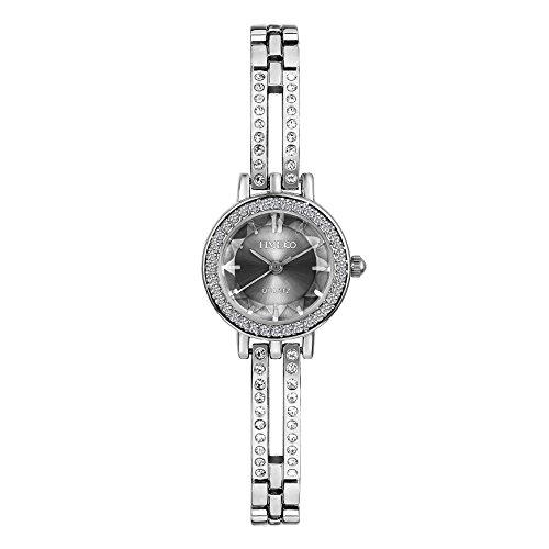 - Time100 Women Quartz Bracelet Watch Fashion Diamond Alloy Plating Case&Band Watches for Ladies