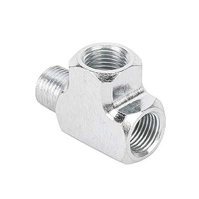 Oil-water Sensor, Oil-water Sensor Pressure Gauge And Adapter T Type Tee Pipe Fitting 1/8 Tee 3 Way: Automotive