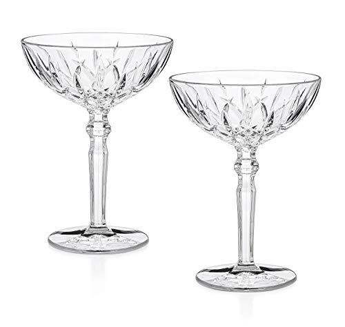 """""""Chez Paree"""" 1933 Chicago Cocktail Coupe (Gift Box Set of 2)"""