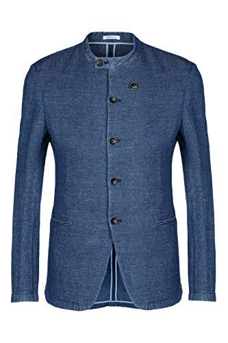 Armani Collezioni Men's Rcg050rcs24906 Burgundy Cotton Blazer