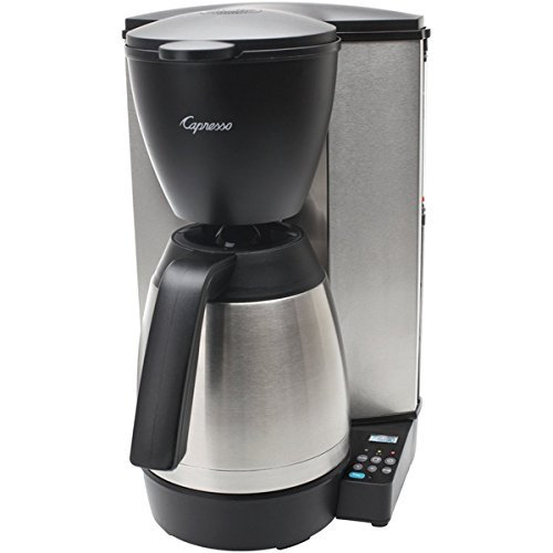 Capresso Jura MT600 PLUS 10 Cup Coffee Maker with Thermal Carafe
