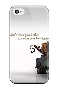 WJOfUtm5255XzIOv Case Cover Funny Life Quotes Iphone 4/4s Protective Case
