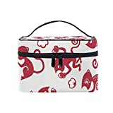 Cosmetic Case Bag Monkey Portable Travel Makeup Bag Toiletry Organizer