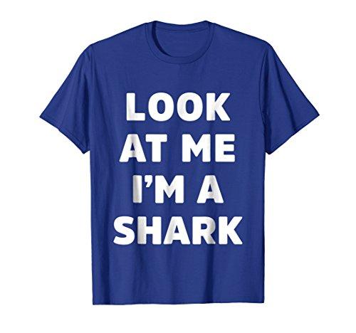 Mens Shark Costume Shirt for Halloween Funny Gift