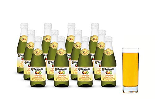 (Martinelli's Gold Medal Sparkling Apple-Pear Juice, 8.4 fl oz. Pack of 12 Bottles | Non-Alcoholic)