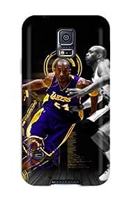 New Design Shatterproof KjJAvJE1907UoTal Case For Galaxy S5 (los Angeles Lakers Nba Basketball (25) )