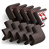TourKing 10 Pack Corner Guards, Super Soft Baby Proofing Corner Protector Edge Protectors with 3M Tape for Furniture to Keep Kids Safe