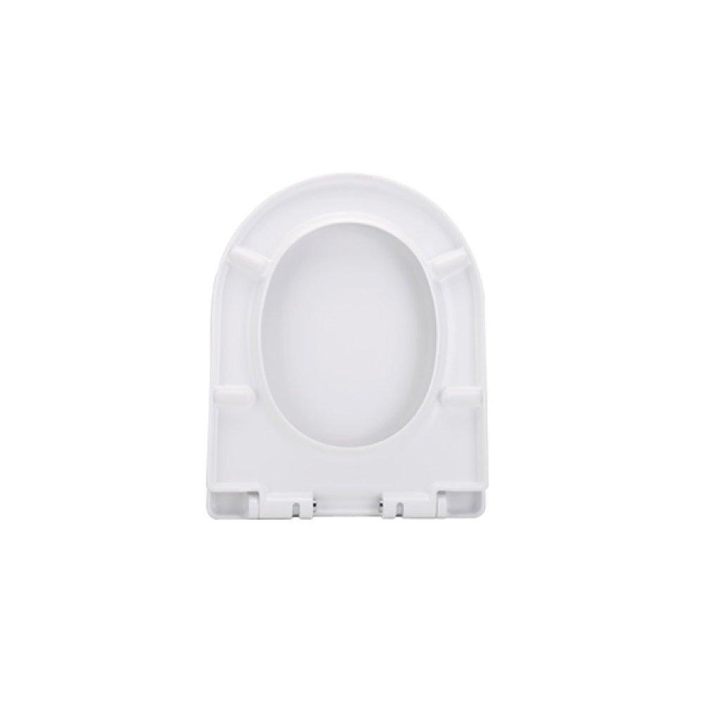 E LDFN Universal Toilet Seat Toilet Slow Down Mute Cover Antibacterial,N