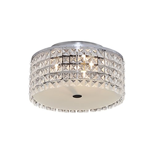 Cobalt 3 Light - Bazz Glam Decorative Ceiling Fixture, Dimmable, Easy Installation, 11
